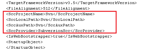 Project File as XML