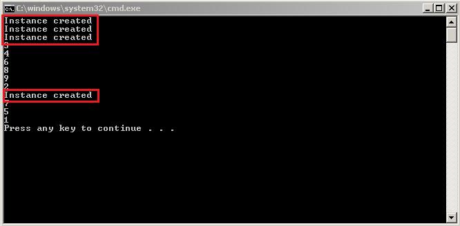 Singleton running on Multithreaded environment