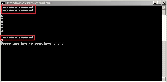 Singleton Multithreaded with lock statement