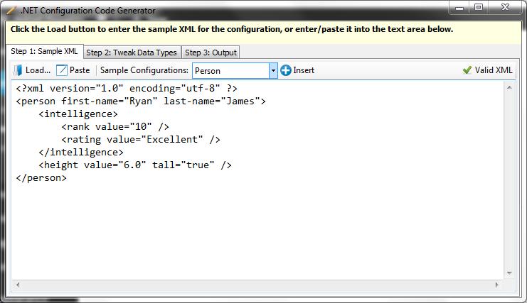 .NET Configuration Code Generator