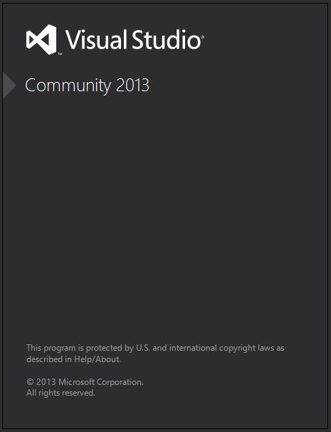 Visual Studio Community 2013