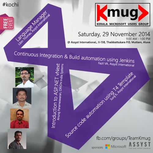 K MUG UG Meet November