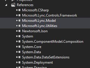 Lync References