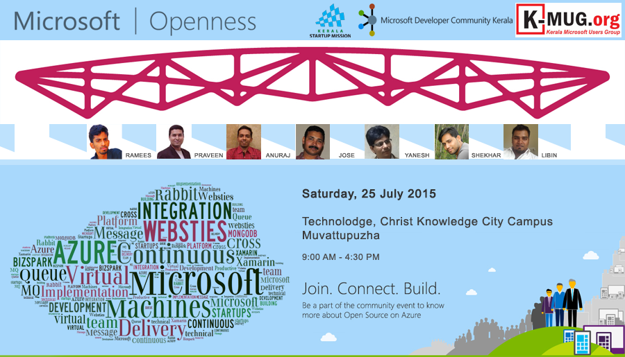 Microsoft Openness event on 25 July 2015