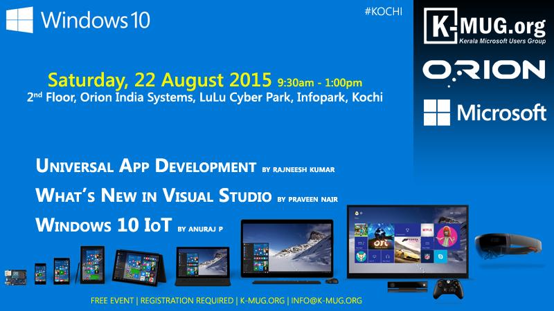 K-MUG TechDay - Saturday, 23 August 2015