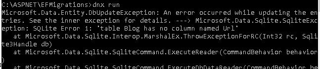 DbUpdateException