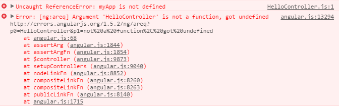 Angular Minification Error