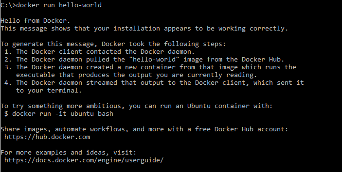 Docker - Hello World