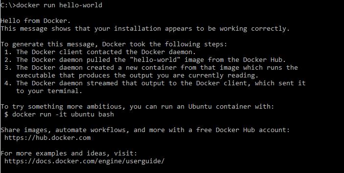 Docker - Hello World