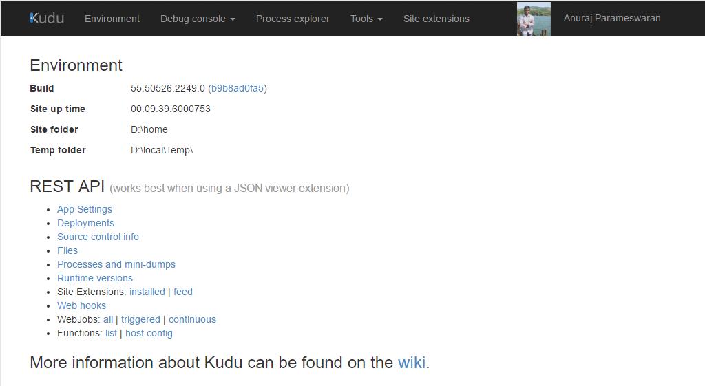 Kudu Dashboard