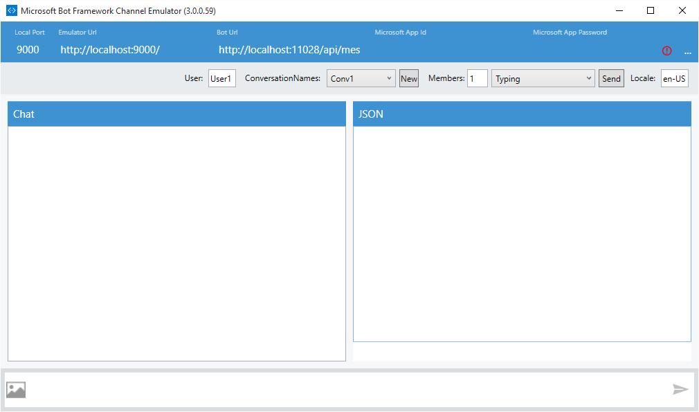 Bot Framework Channel Emulator