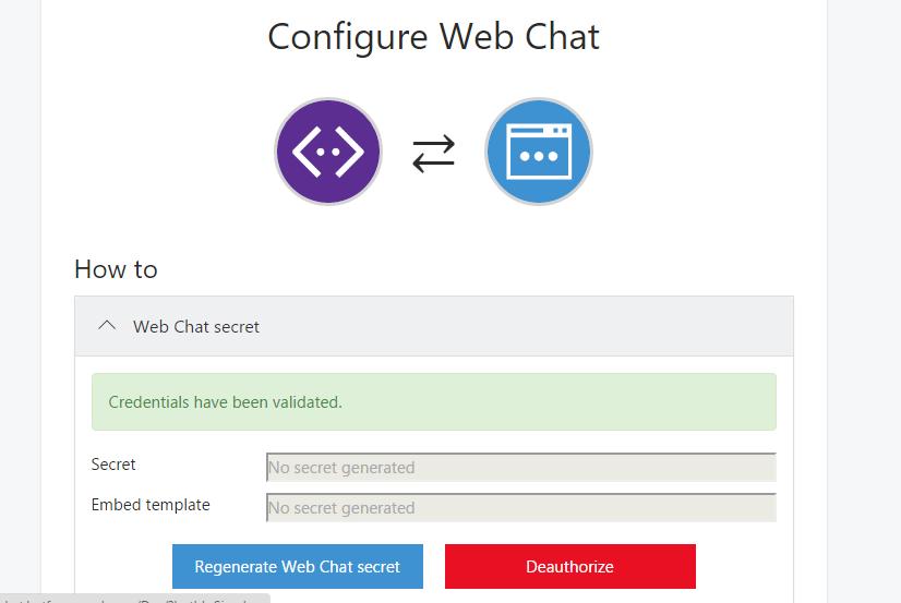 Web Chat Integration