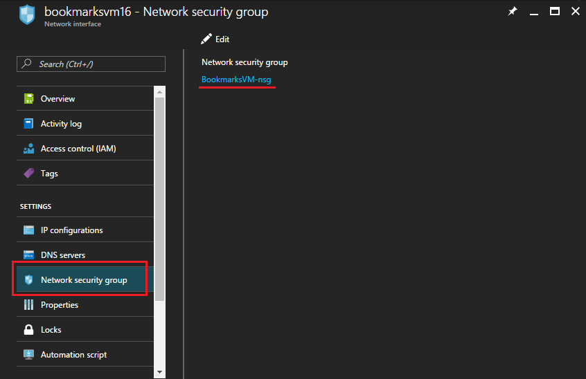 Network Security Group