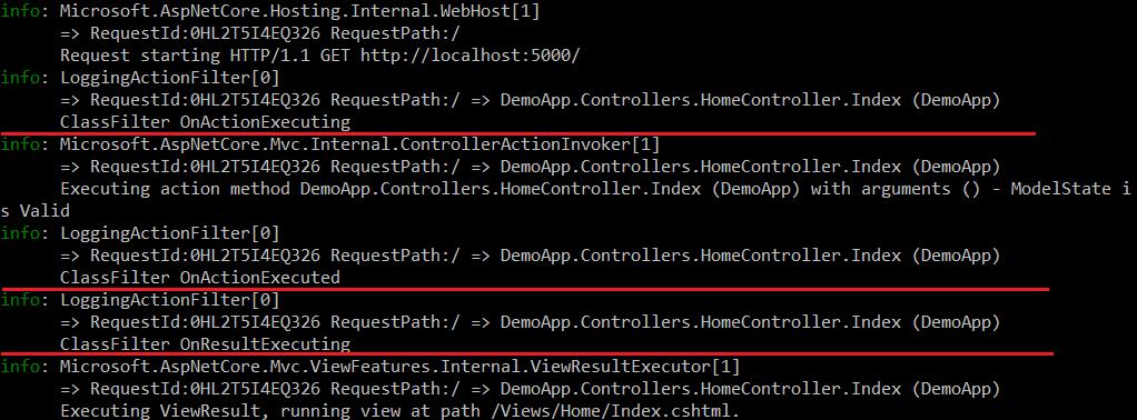 AOP Logging in ASP.NET Core