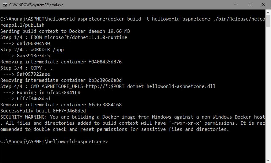Building the Docker Image