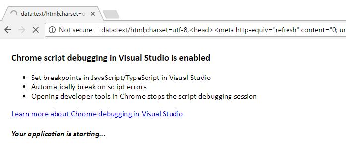 Javascript debugging wih Chrome