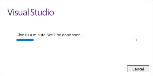 Visual Studio 2017 - Installation