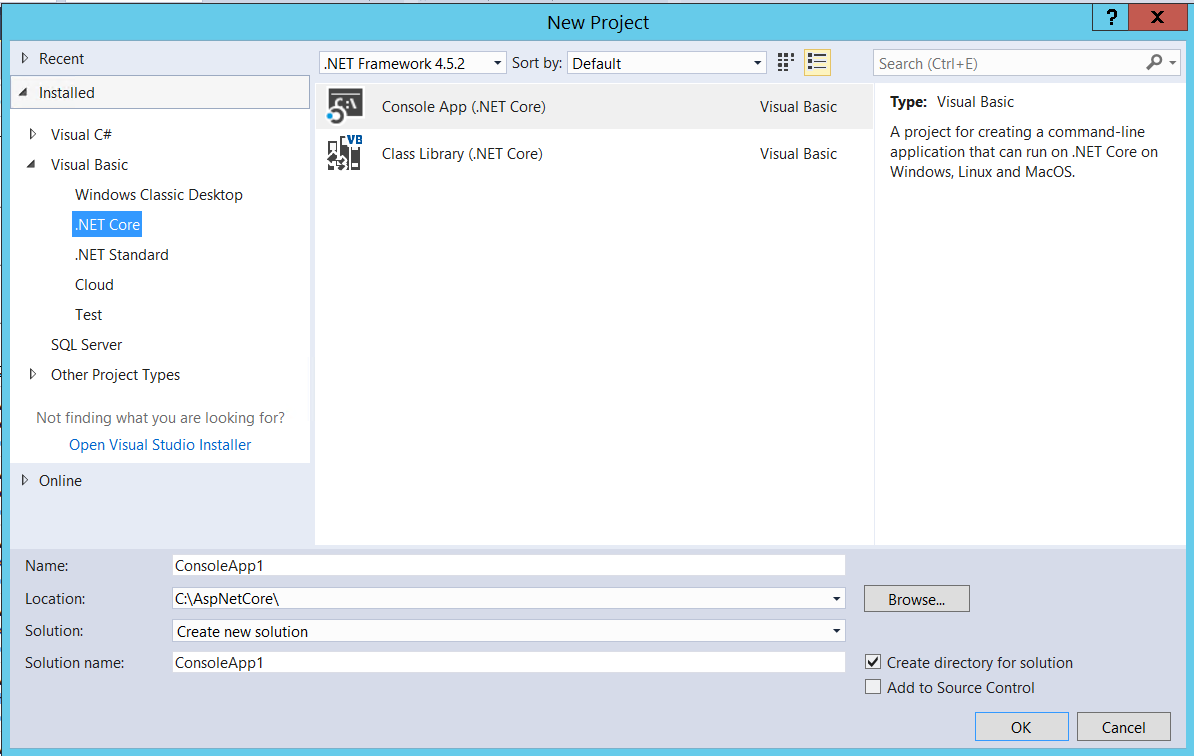 Visual Basic Support added