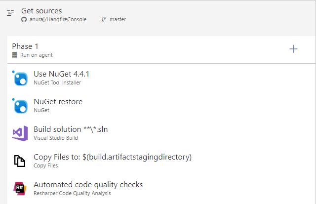 Resharper Code Quality Analysis