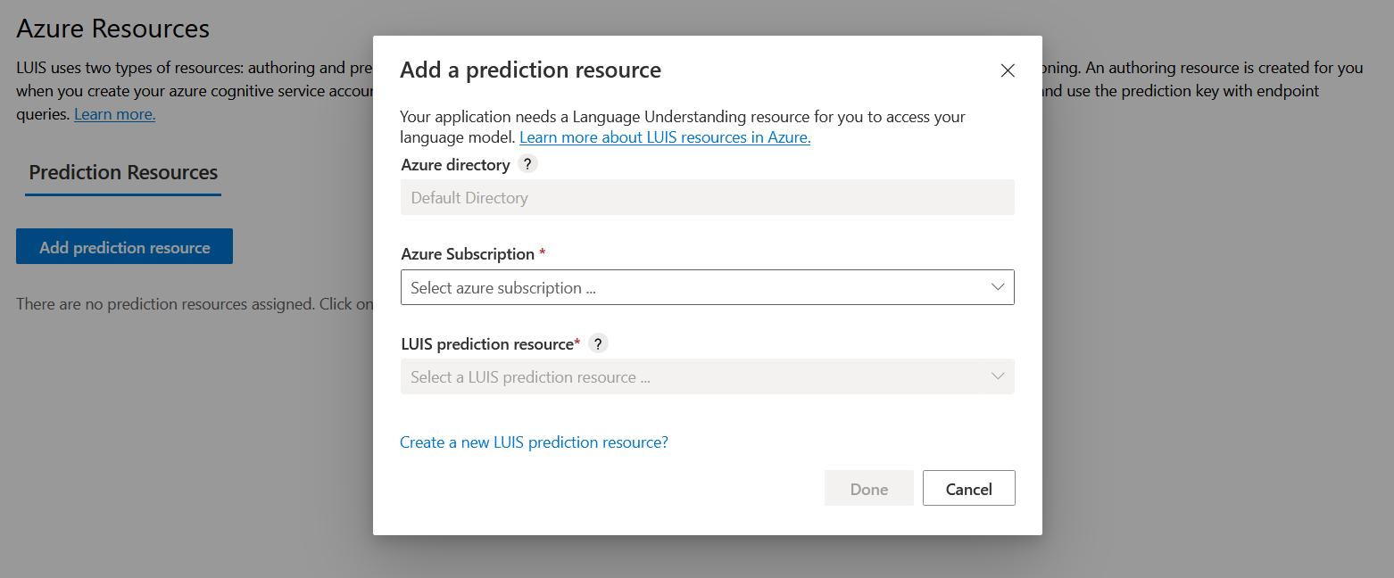 Add a Prediction resource