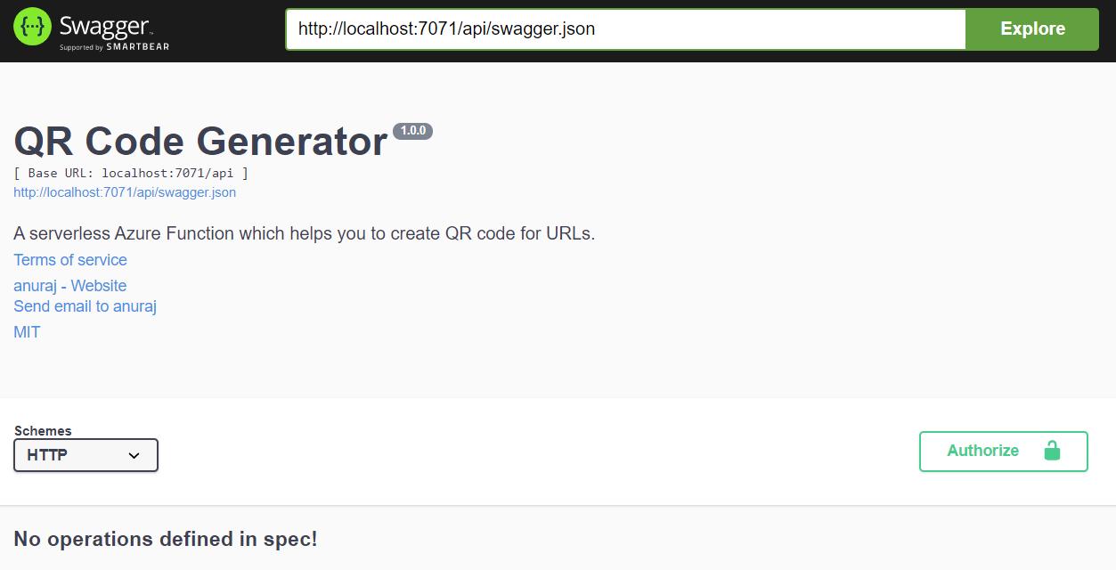 Open API Specification