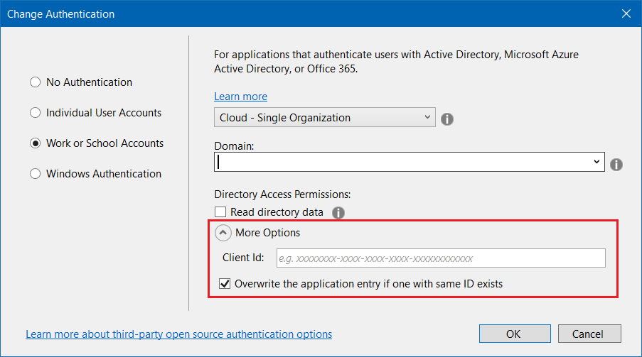 Create Project with Visual Studio