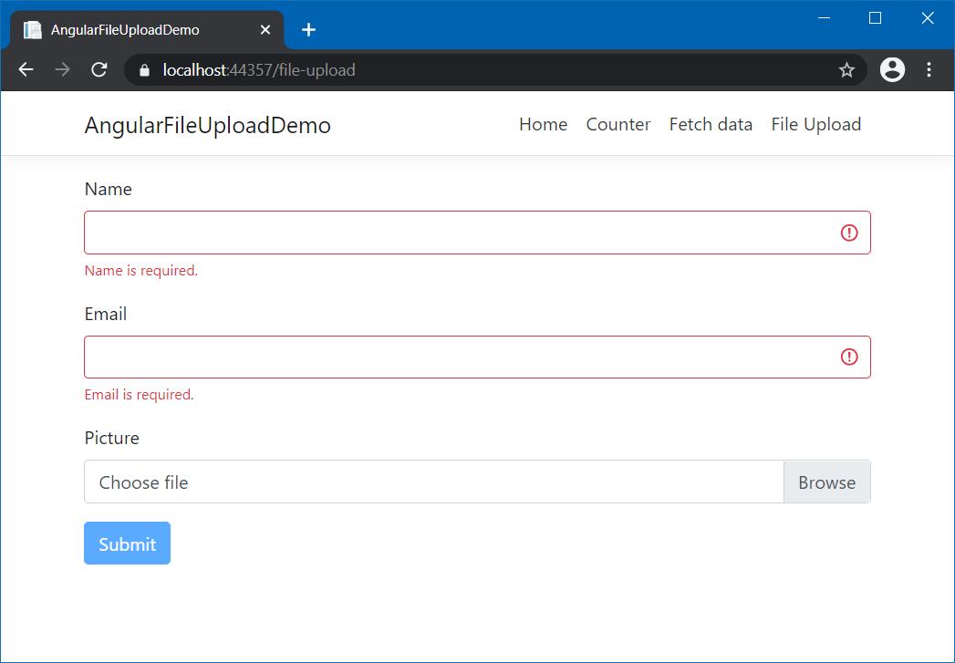 Angular File Upload