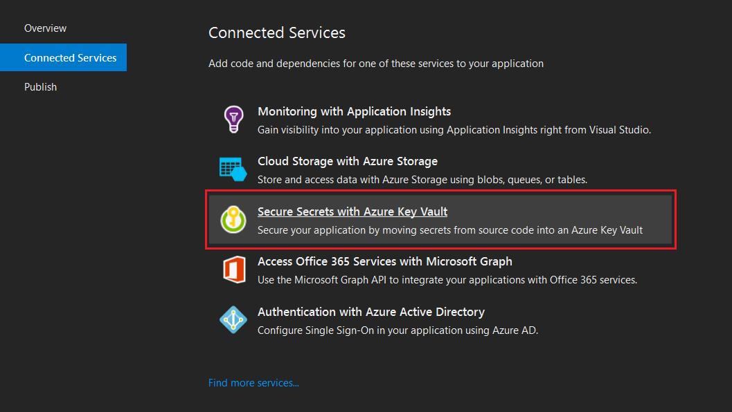 Secure Secrets with Azure Key Vault
