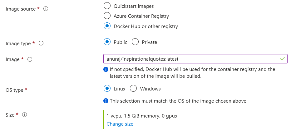 Docker Hub Registry