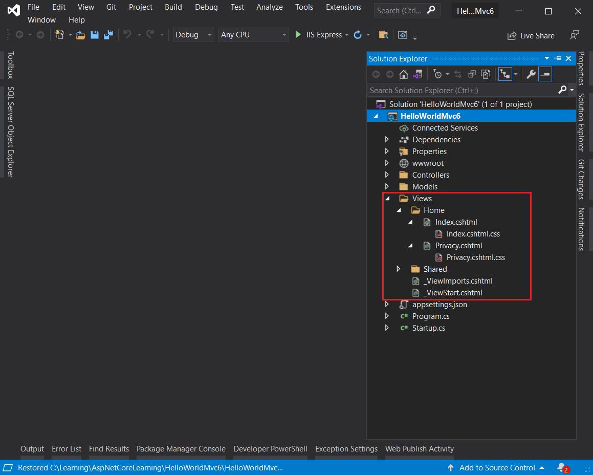 CSS Isolation in Visual Studio