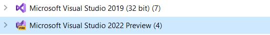 Visual Studio 2022 - 64 Bit