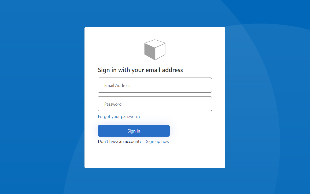 Azure B2C Custom Login Page